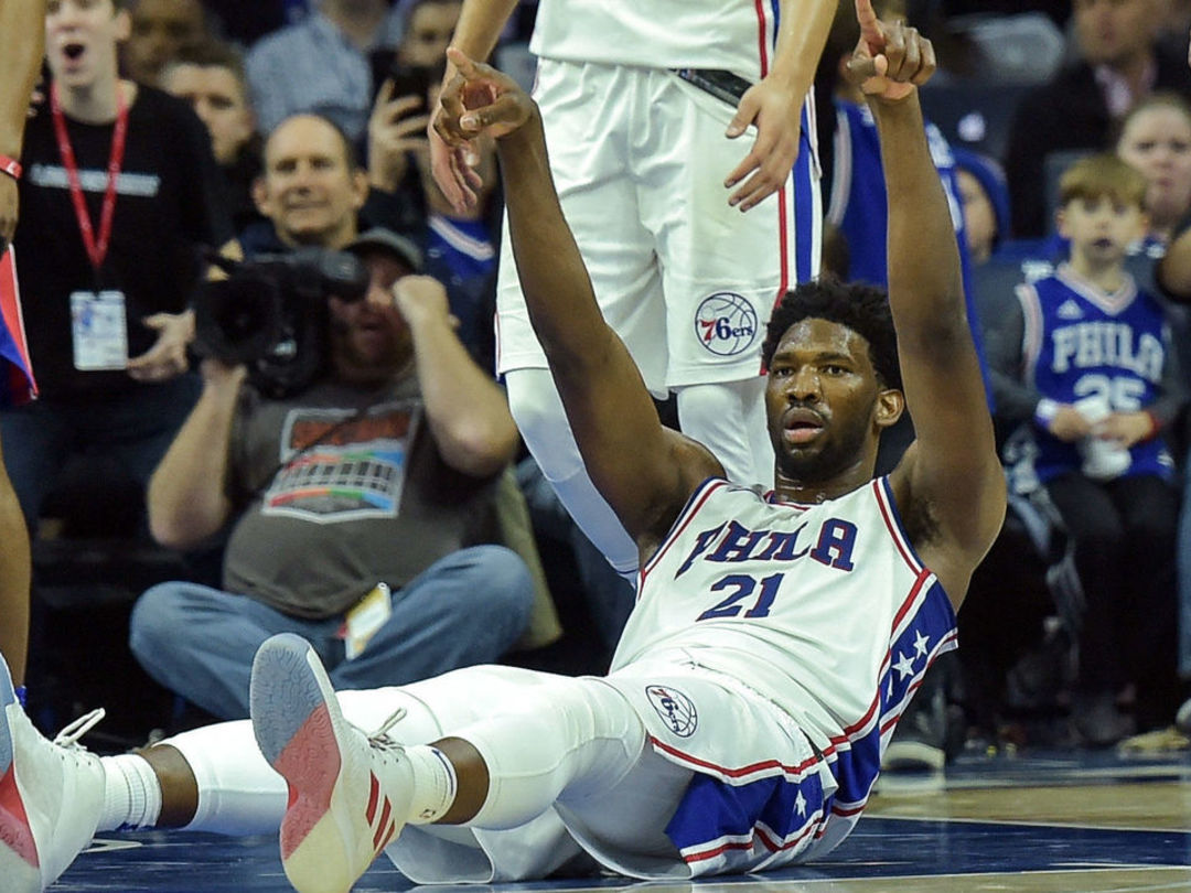 Embiid predicted Drummond would foul out to his teammates before game