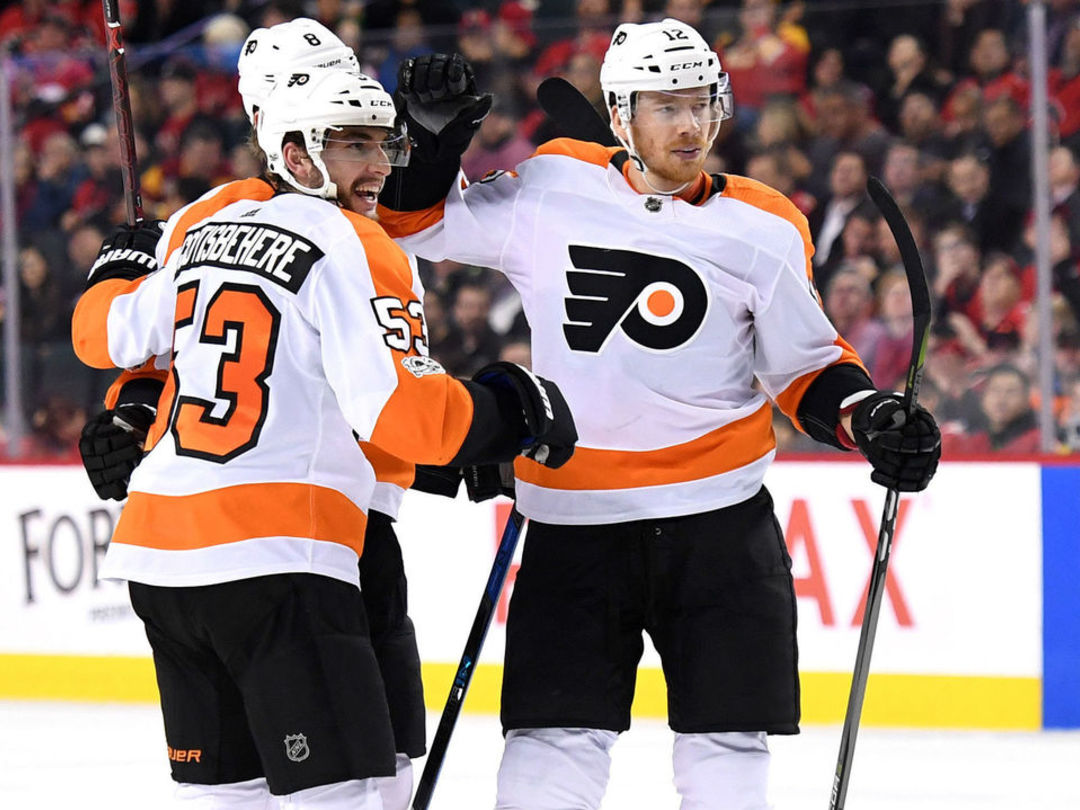 Flyers snap 10-game losing skid with win over Flames