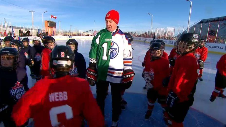 PHOTOS  Questionable wardrobe choices highlight Hockey Day in Canada ... 73e0f999e57