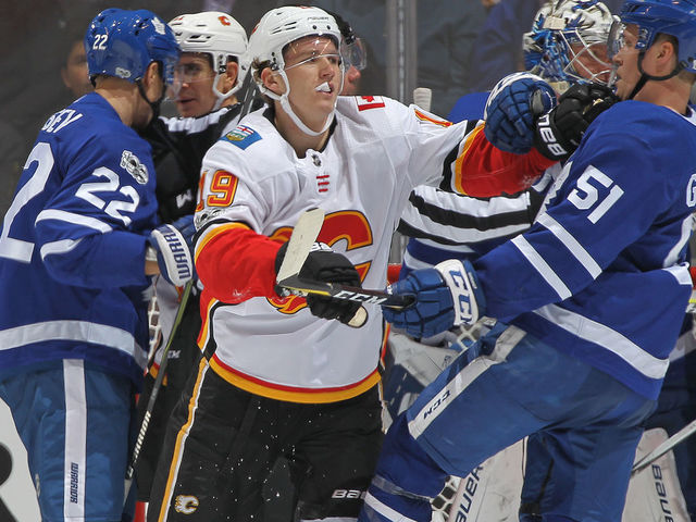Poll: Should Tkachuk be suspended for spearing Leafs' Martin from the bench?