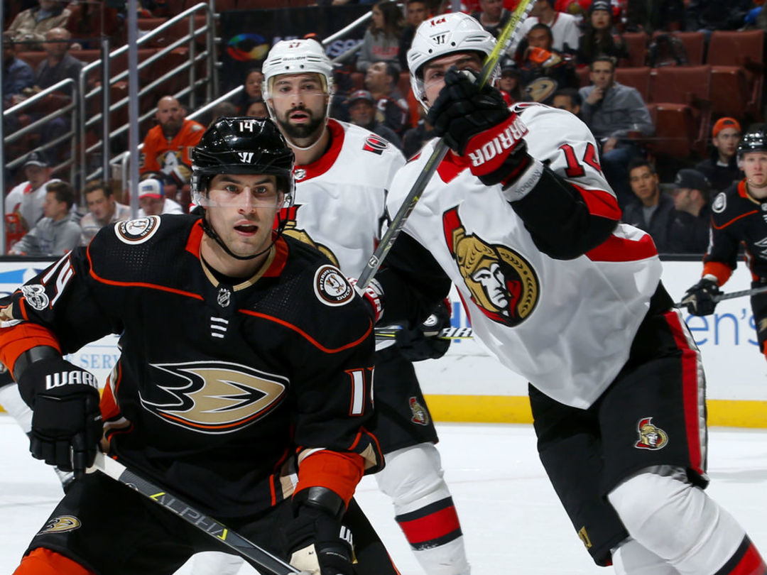 Watch: Henrique scores 1st goal with Ducks ... for real this time