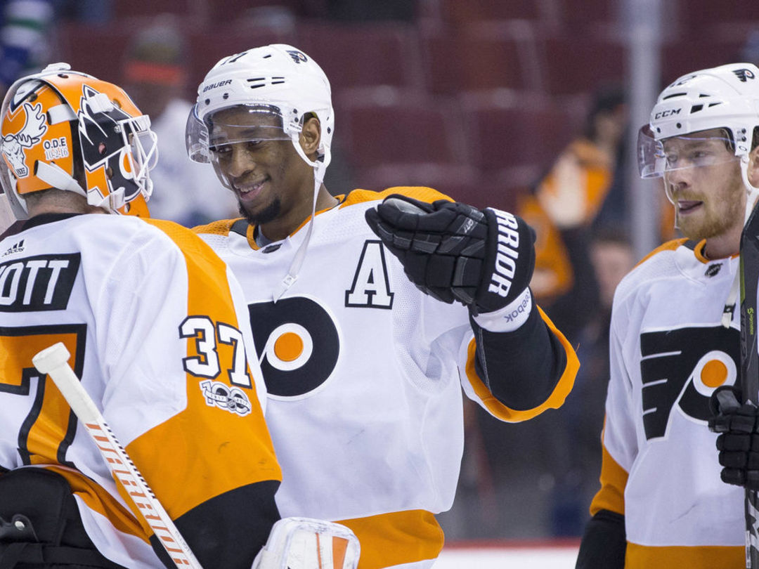 Flyers sweep Western Canadian road trip after 10-game losing skid