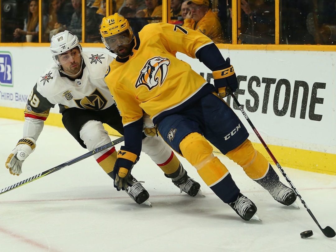 Preds coach doesn't let P.K. Subban face brother Malcolm in shootout
