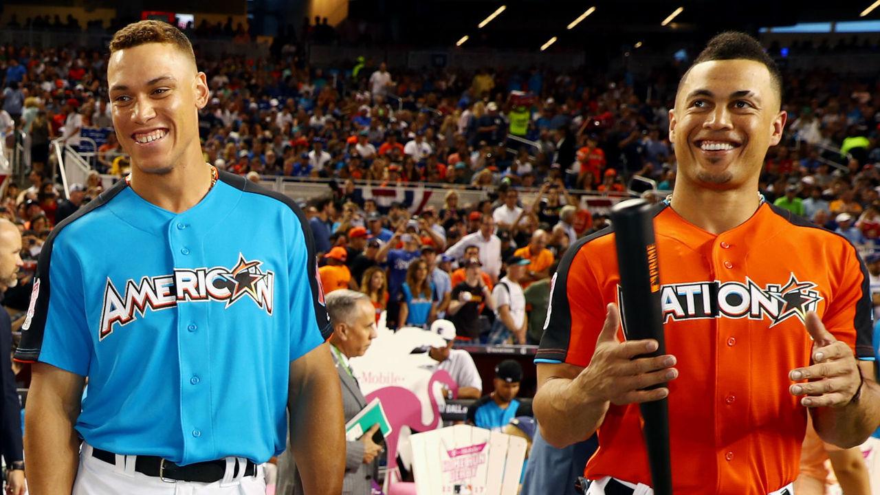 Giancarlo Stanton >> Stanton, Judge, Sanchez hit more HRs than Giants in 2017 ...