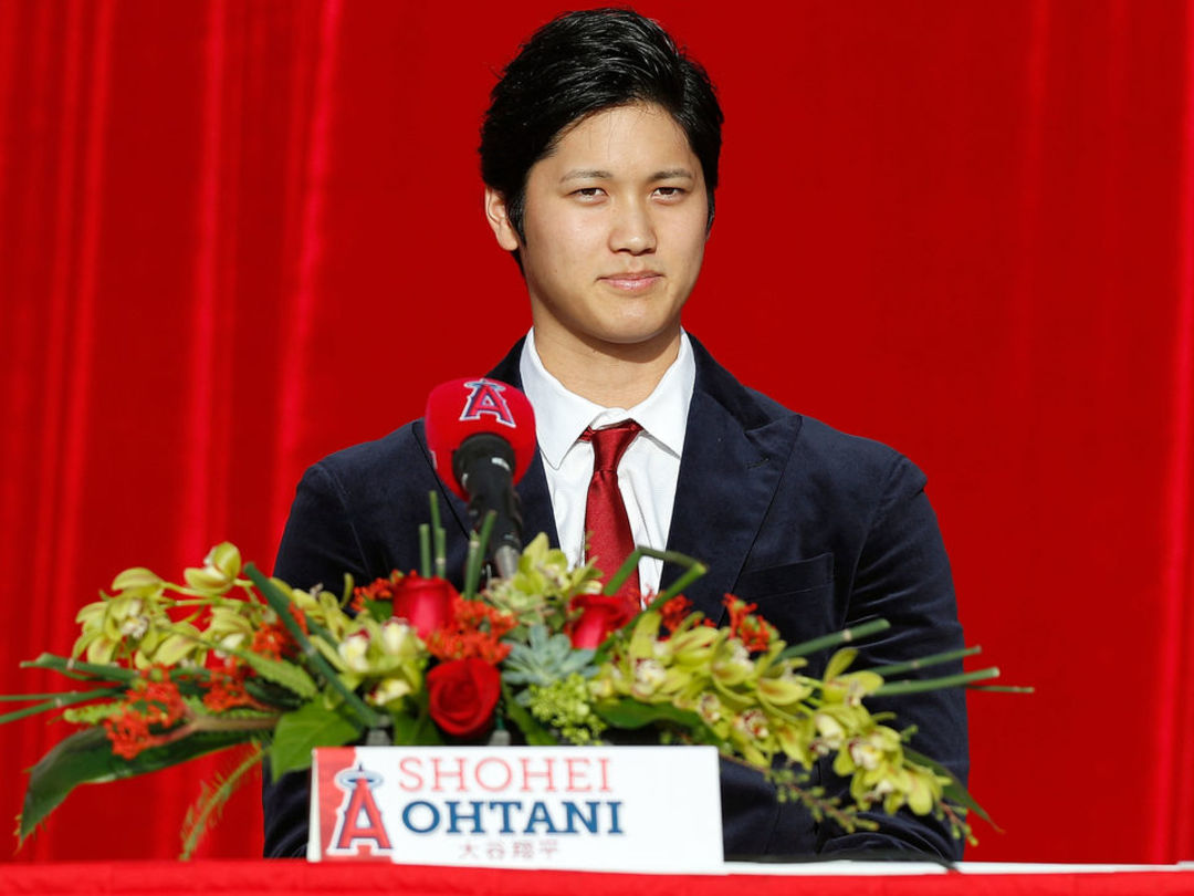 Ohtani received PRP injection in pitching elbow in October