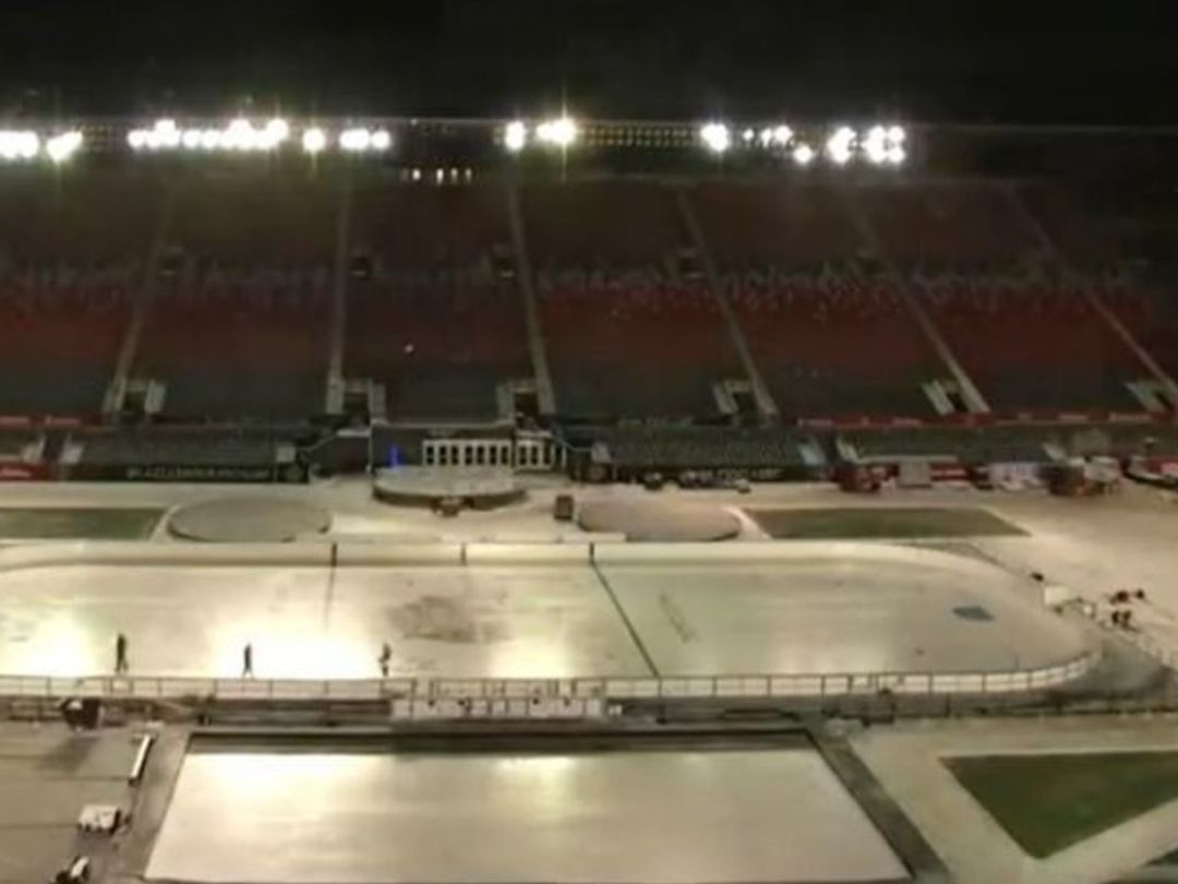Watch: Lansdowne Park transforms for NHL100 Classic in Ottawa