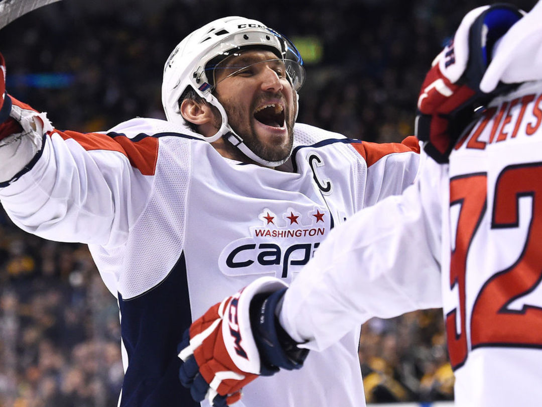 Capitals beat Bruins to remain one of NHL's hottest clubs