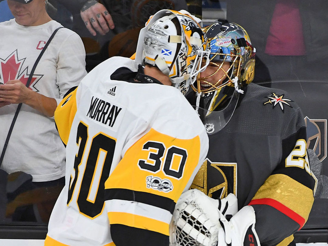 Watch: Fleury replicates '09 save on Lidstrom in 1st game against Penguins
