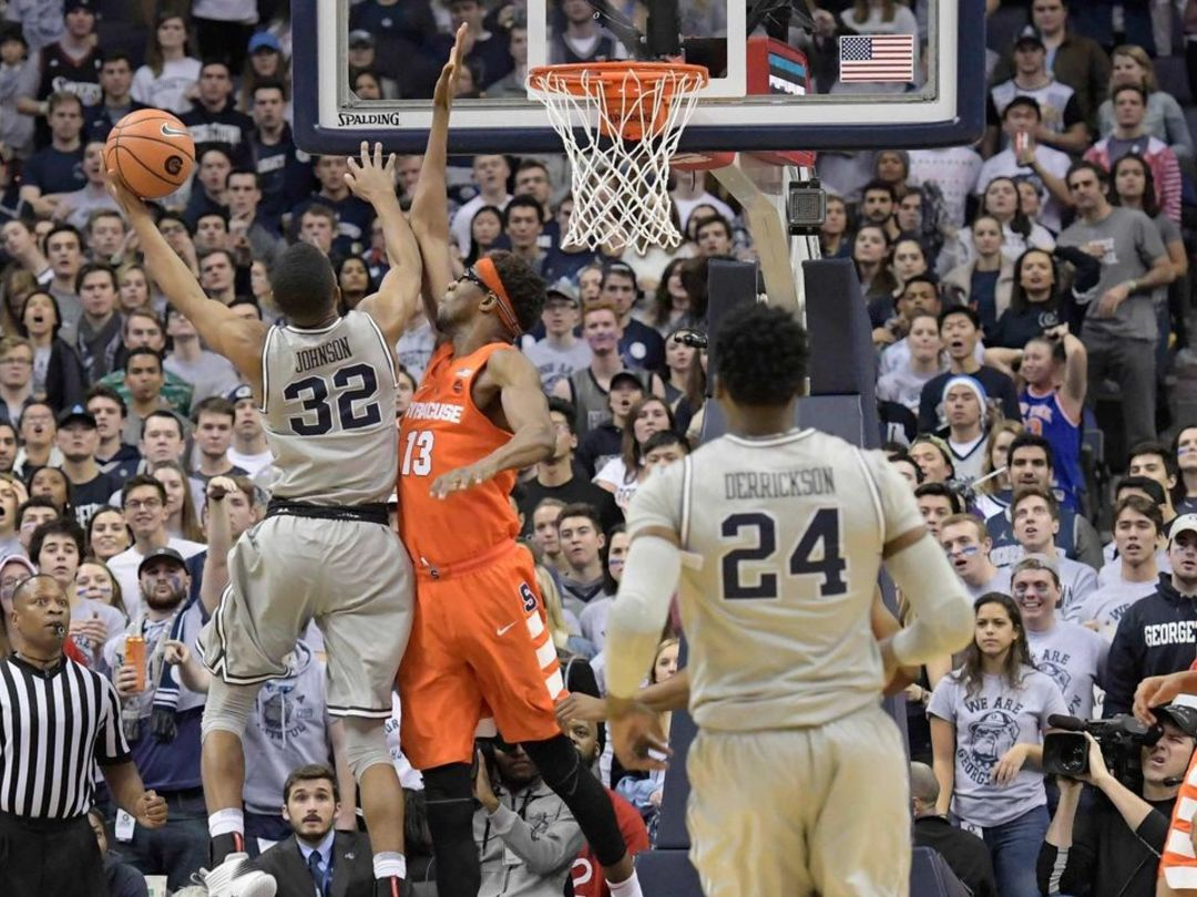 Syracuse comes back to beat Georgetown in OT