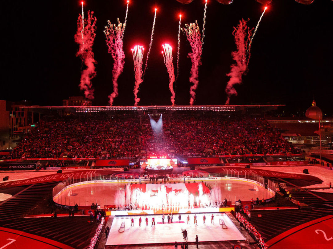 Views from NHL 100 Classic in Ottawa