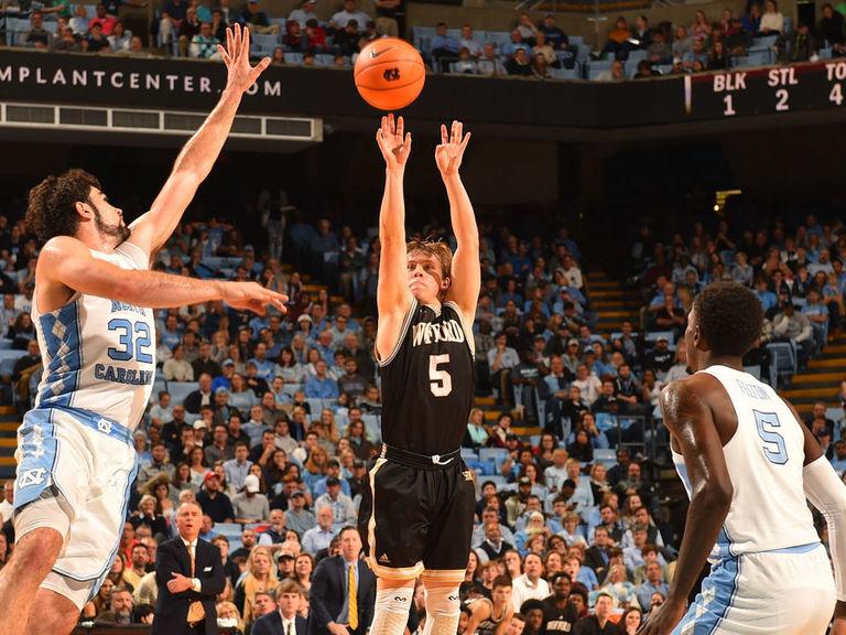 Wofford stuns No. 5 North Carolina at home