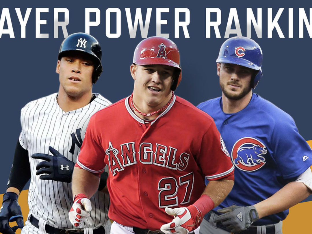 Way too early 2018 MLB player power rankings: 10-1