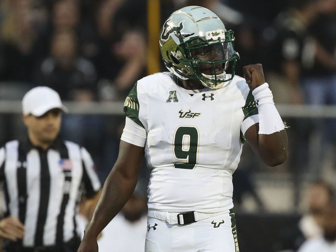 South Florida's Flowers sets AAC record for career total offense