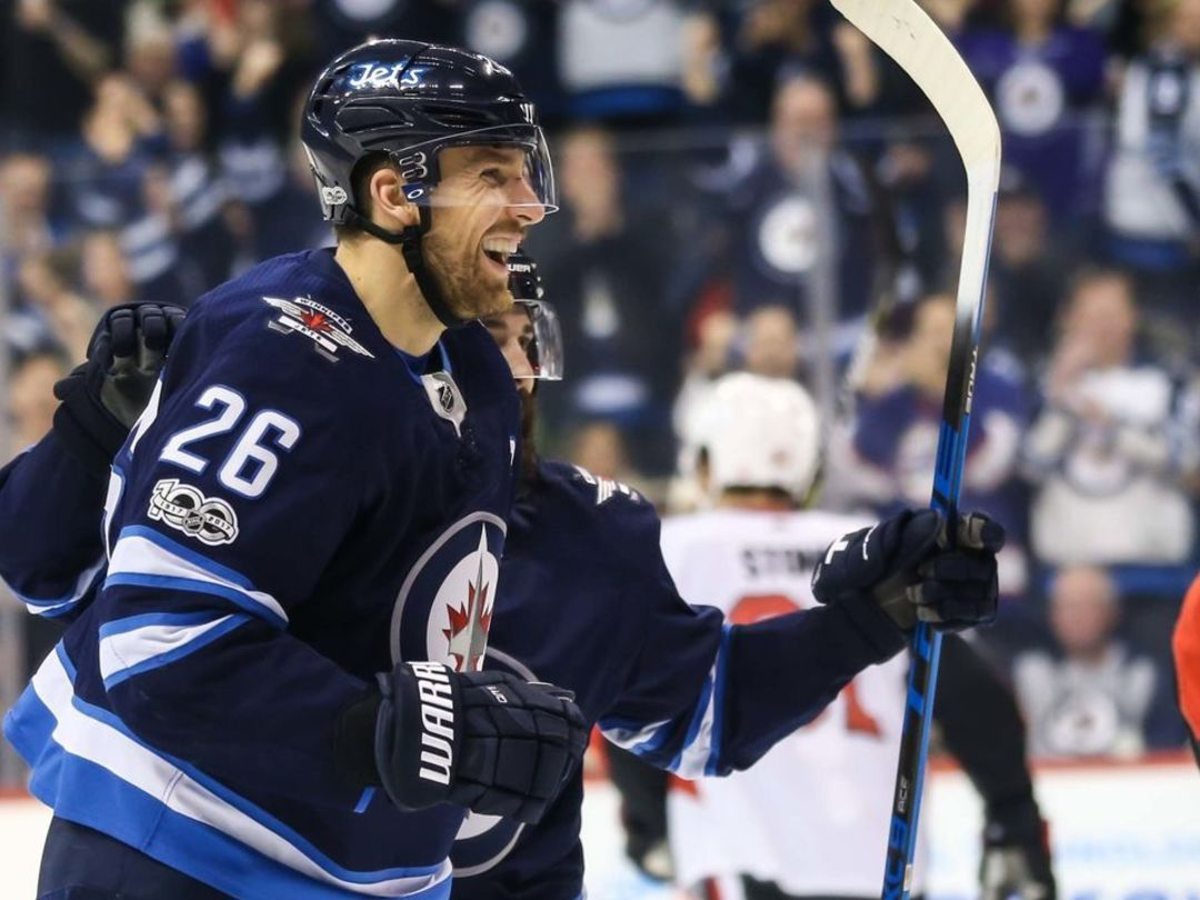 Wheeler Moves Into 1st Place On Jets' Franchise Assists List