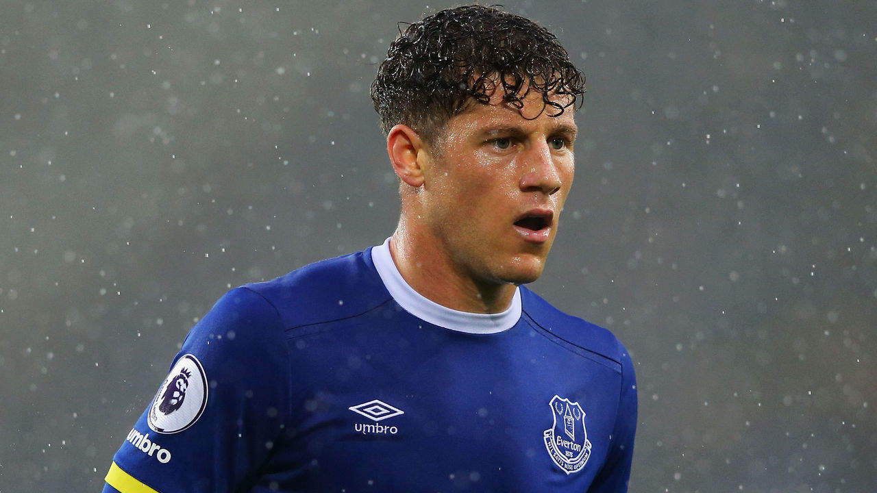 LIVERPOOL, ENGLAND - MAY 12: Ross Barkley of Everton looks on during the Premier League match between Everton and Watford at Goodison Park on May 12, 2017 in Liverpool, England.