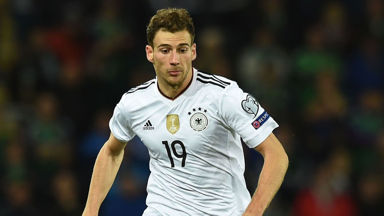BELFAST, NORTHERN IRELAND - OCTOBER 05: Leon Goretzka of Germany during the FIFA 2018 World Cup Qualifier between Northern Ireland and Germany at Windsor Park on October 5, 2017 in Belfast, Northern Ireland.