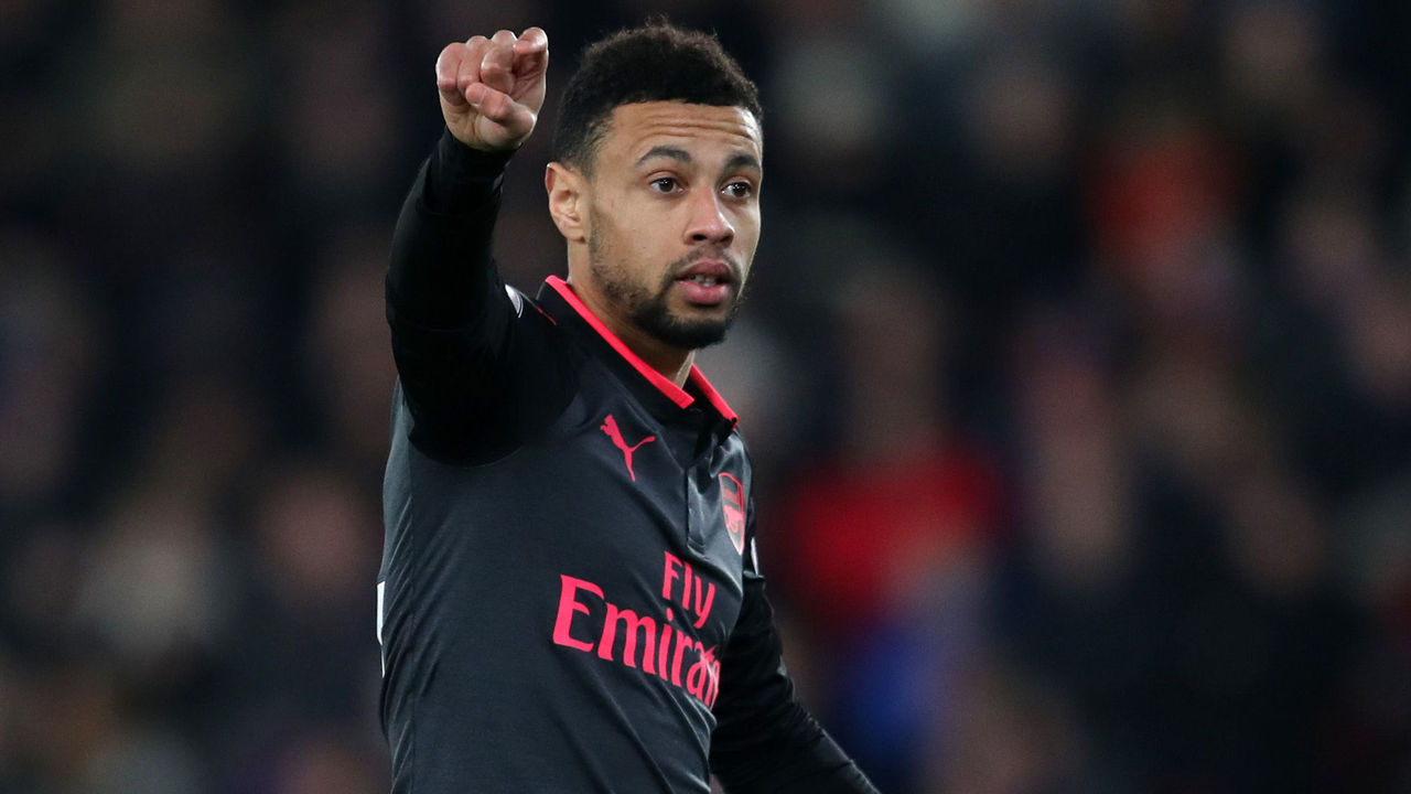 LONDON, ENGLAND - DECEMBER 28: Francis Coquelin of Arsenal during the Premier League match between Crystal Palace and Arsenal at Selhurst Park on December 28, 2017 in London, England.