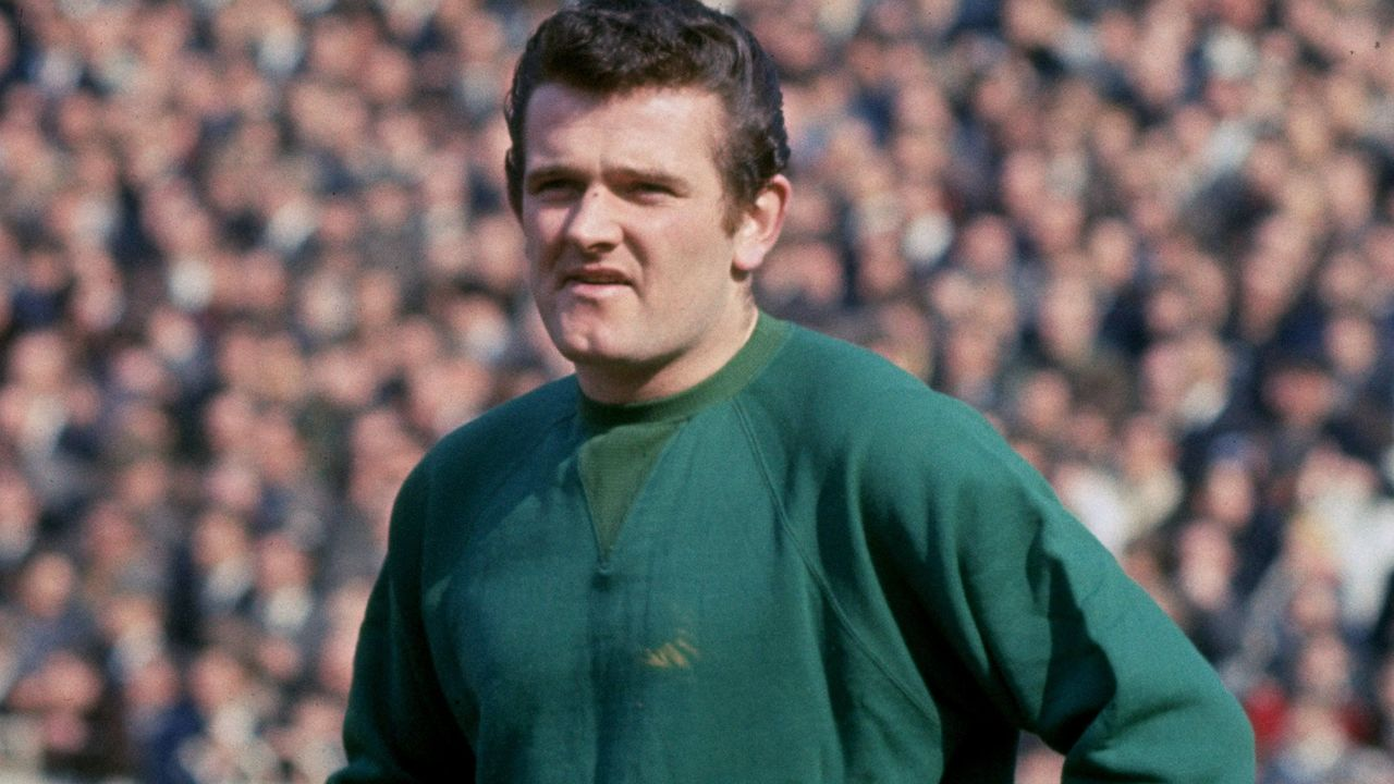 1970: Portrait of Tommy Lawrence of Liverpool.. \ Mandatory Credit: Allsport UK /Allsport