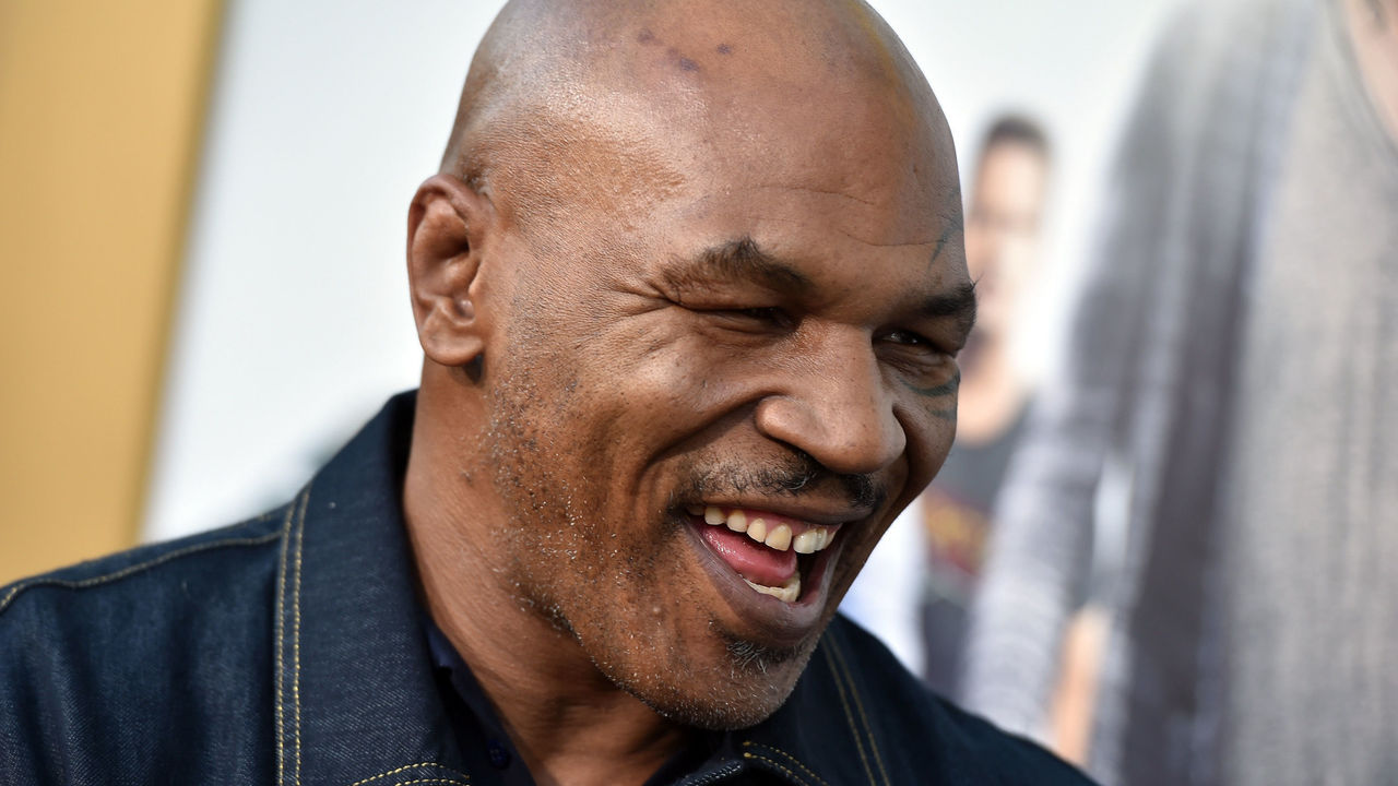 WESTWOOD, CA - JUNE 01: Mike Tyson attends the premiere of Warner Bros. Pictures' 'Entourage' at Regency Village Theatre on June 1, 2015 in Westwood, California.