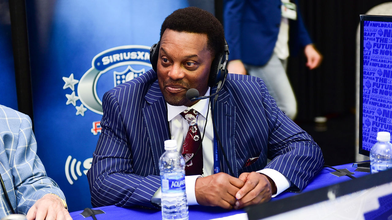PHILADELPHIA, PA - APRIL 27: Head Coach of Texas A&M University Kevin Sumlin visits the SiriusXM NFL Radio talkshow during the first round of the 2017 NFL Draft at Philadelphia Museum of Art on April 27, 2017 in Philadelphia, Pennsylvania.