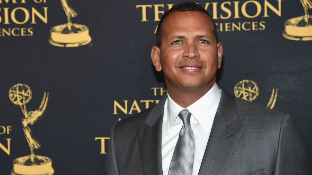 NEW YORK, NY - MAY 09: Alex Rodriguez attends the 38th Sports Emmy Awards at Jazz at Lincoln Center on May 9, 2017 in New York City.