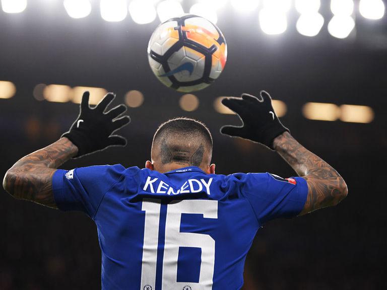 Newcastle signs Kenedy on loan from Chelsea until end of season