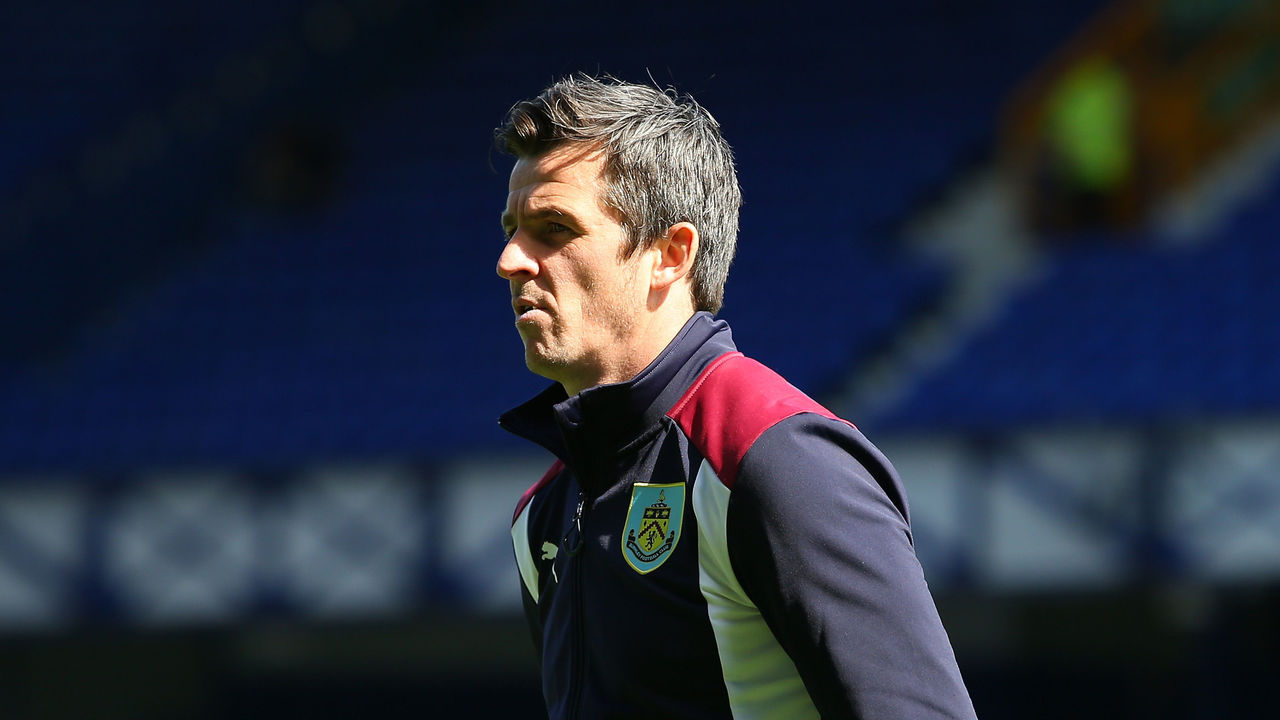 LIVERPOOL, ENGLAND - APRIL 15: Joey Barton of Burnley takes a look around the pitch prior to the Premier League match between Everton and Burnley at Goodison Park on April 15, 2017 in Liverpool, England.