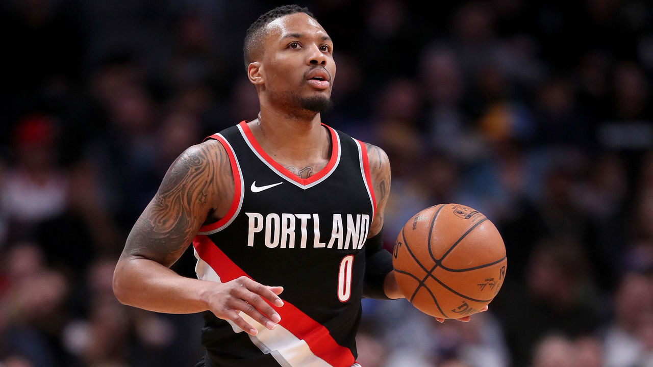 half off e52b7 3bc31 Report: Lillard to be named a West All-Star reserve ...