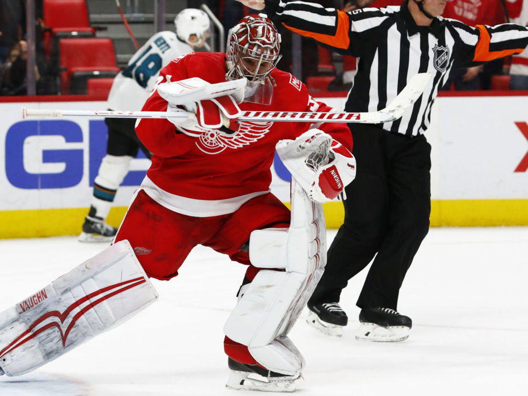 Red Wings trade Mrazek to Flyers for conditional draft picks