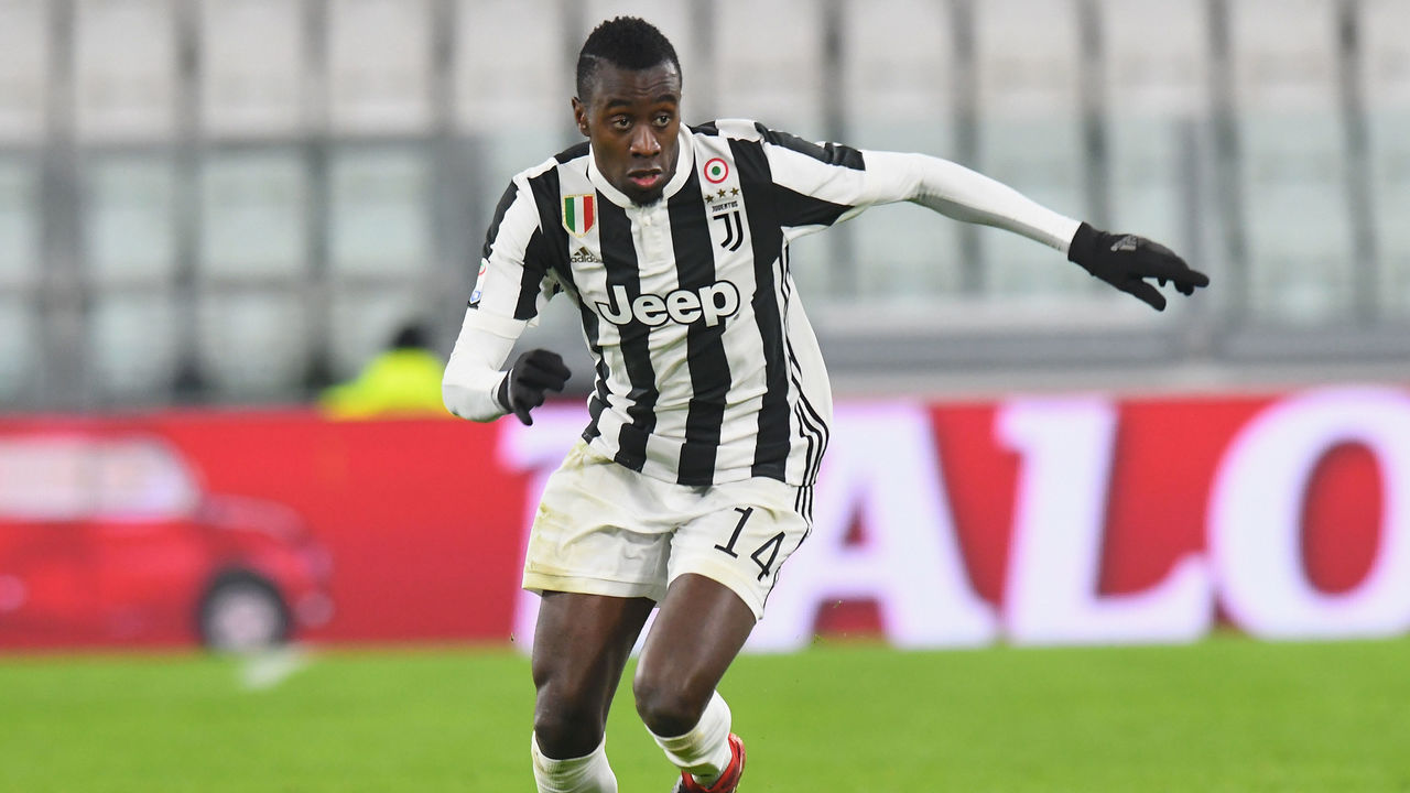 TURIN, ITALY - JANUARY 22: Blaise Matuidi of Juventus in action during the Serie A match between Juventus and Genoa CFC on January 22, 2018 in Turin, Italy.