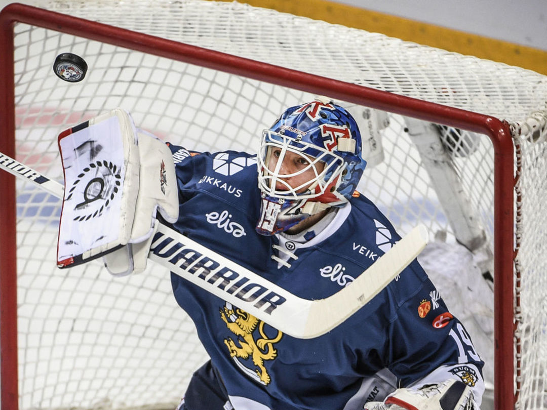 Oilers agree to terms with KHL netminder Koskinen on 1-year deal