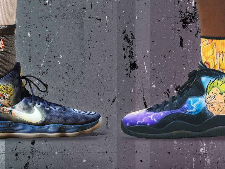 8598e04c7a4 Meet Kickstradomis, the undisputed king of customized NBA sneakers |  theScore.com