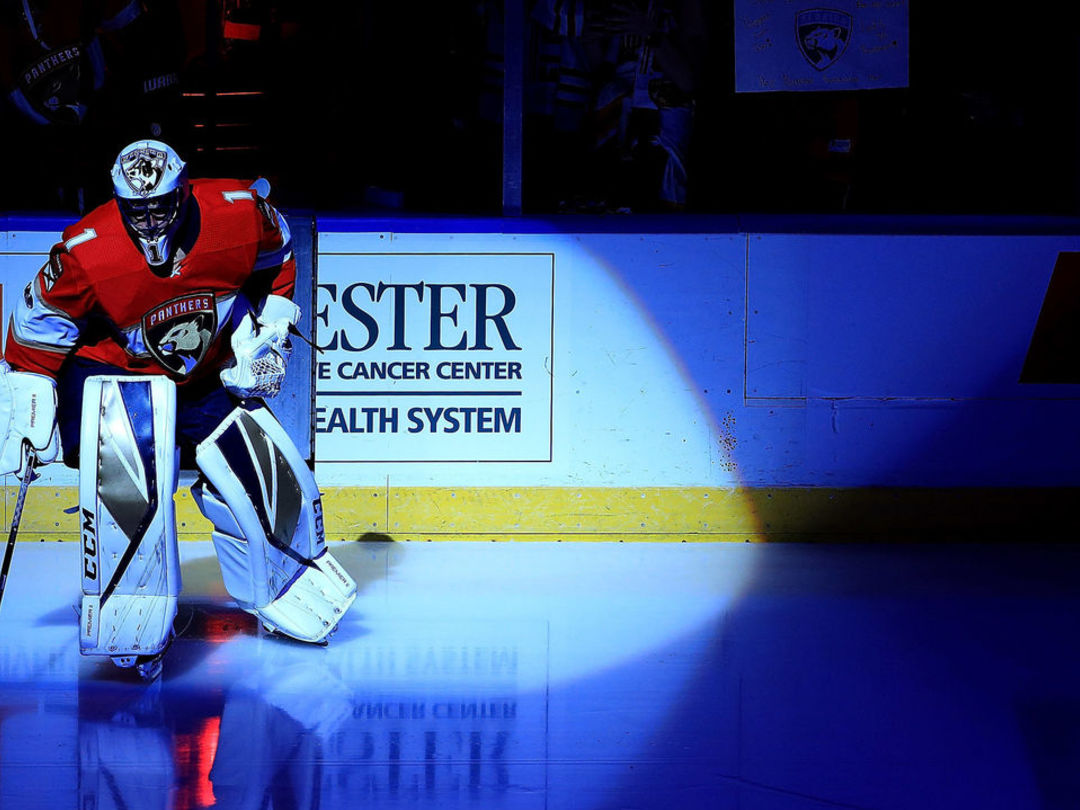 Luongo becomes 3rd NHL goalie to play 1,000 career games