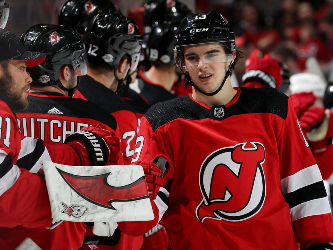 Devils' Hischier named NHL's 1st star of the week