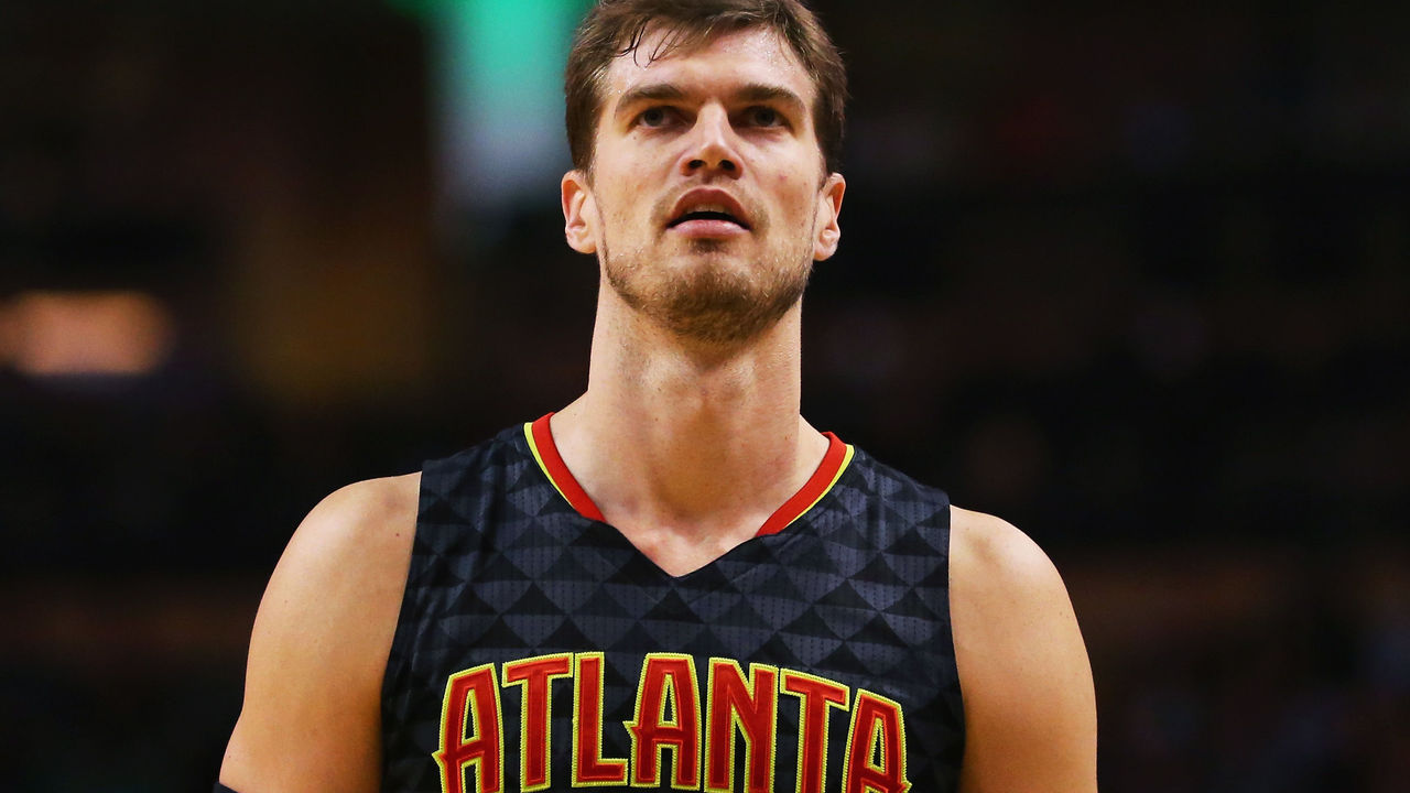 BOSTON, MA - DECEMBER 18: Tiago Splitter #11 of the Atlanta Hawks looks on during the third quarter against the Boston Celtics at TD Garden on December 18, 2015 in Boston, Massachusetts.NOTE TO USER: User expressly acknowledges and agrees that, by downloading and/or using this photograph, user is consenting to the terms and conditions of the Getty Images License Agreement.