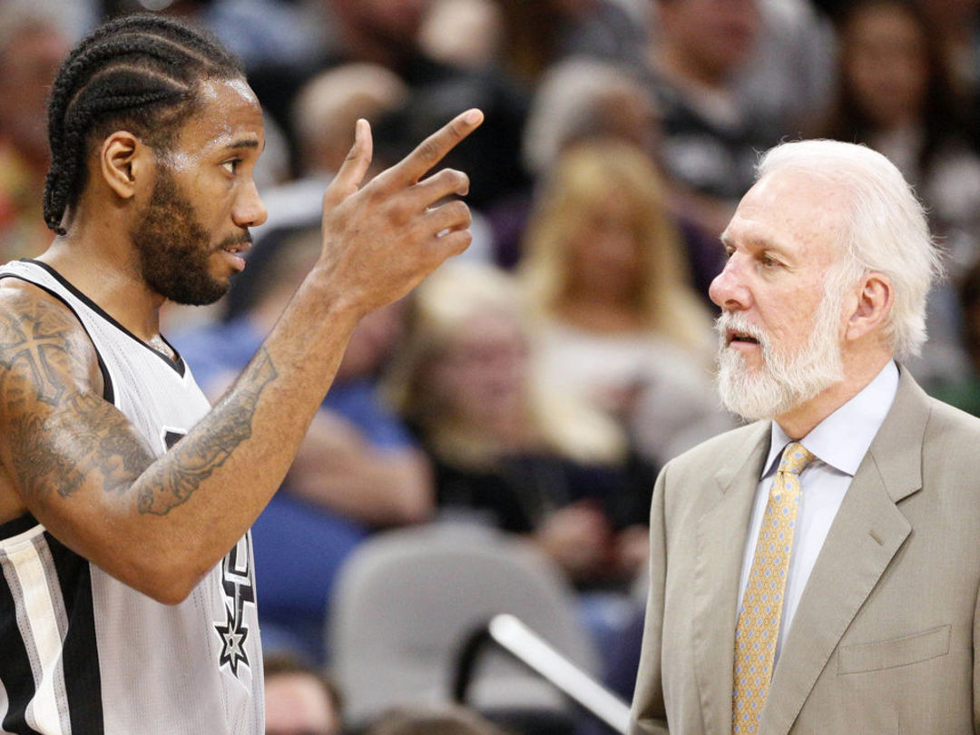 Leonard, Popovich to meet Tuesday to gauge return from injury