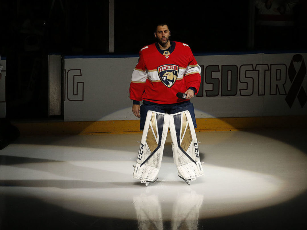 Luongo gives powerful pregame speech on Parkland shooting: 'Enough is enough'