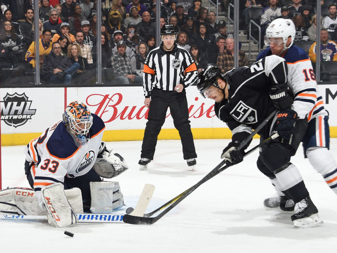 Watch: Kings' late tying goal disallowed on goalie interference