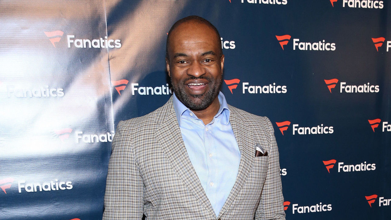 HOUSTON, TX - FEBRUARY 04: NFL Players Association Executive Director DeMaurice Smith arrives for the Fanatics Super Bowl Party at Ballroom at Bayou Place on February 4, 2017 in Houston, Texas.