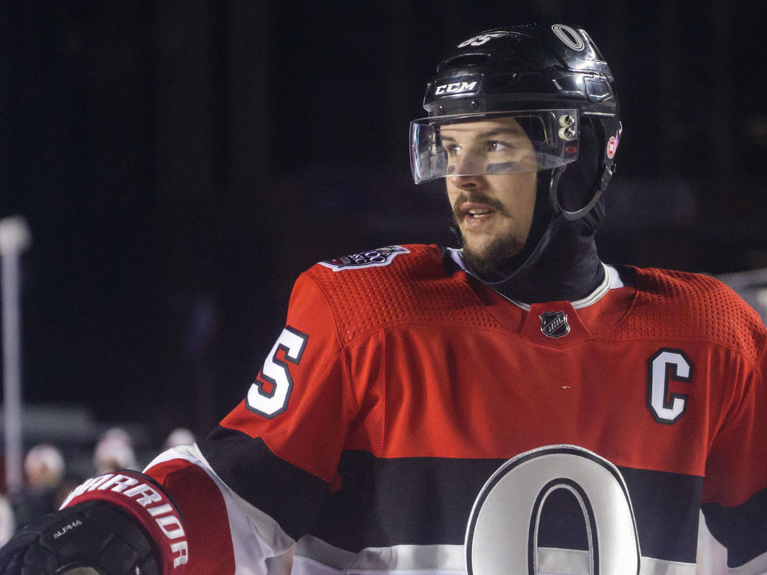 Report: Golden Knights making 'serious pitch' for Karlsson