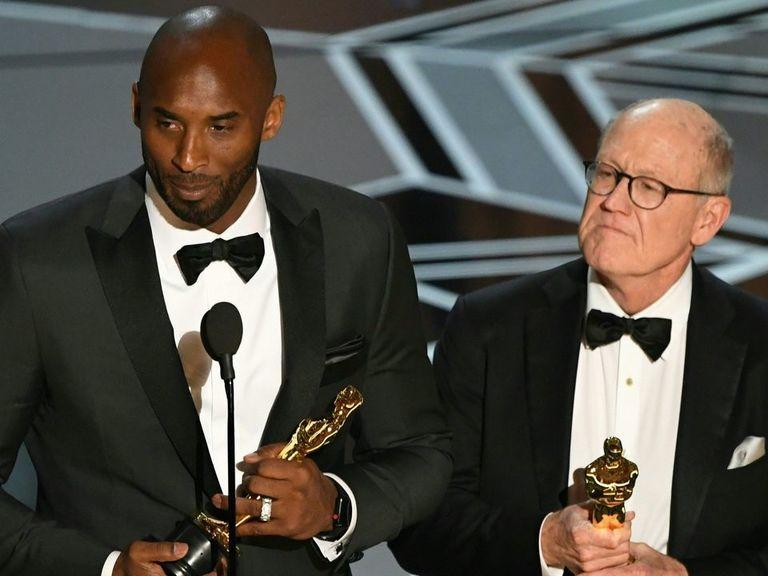 Kobe's 'Dear Basketball' wins Oscar for Best Animated Short Film