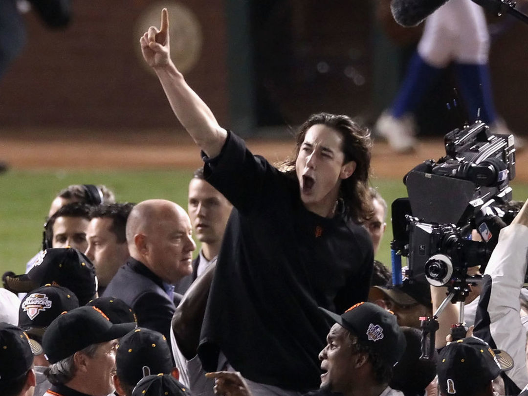 Rangers GM: Lincecum apologized for beating us in World Series