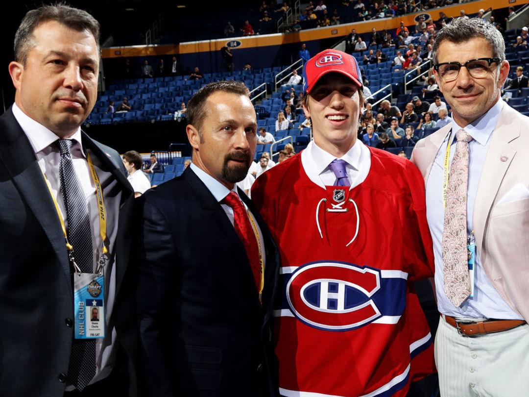 Canadiens sign 2016 draft picks Bitten, Pezzetta to entry-level deals