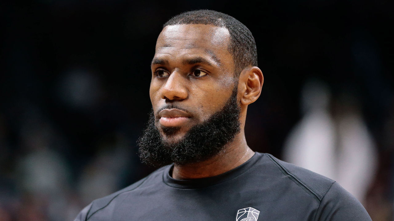 19d15f594 LeBron feels his level of play is at  all-time high