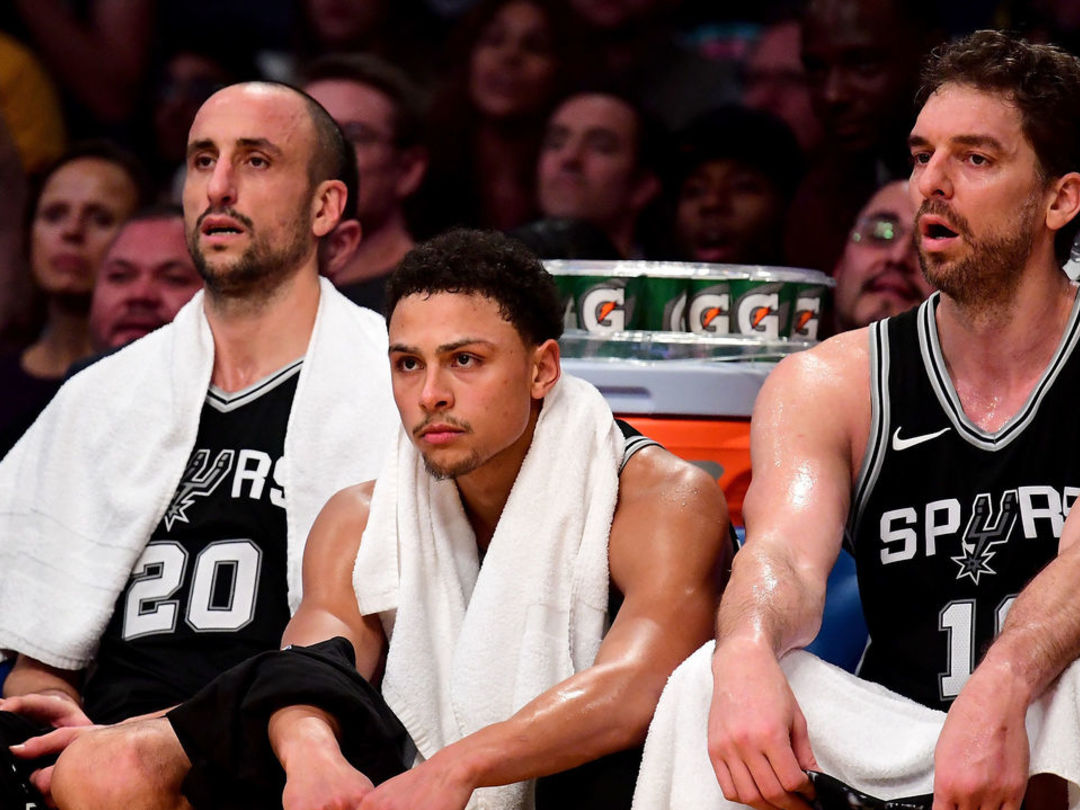 Ginobili: 'We were aiming for the 3rd spot, now we're aiming for the playoffs'