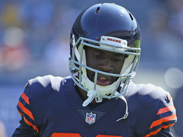 CHICAGO, IL - SEPTEMBER 24: Prince Amukamara #20 of the Chicago Bears participtes in warm-ups before a game against the Pittsburgh Steelers at Soldier Field on September 24, 2017 in Chicago, Illinois. The Bears defeated the Steelers 23-17 in overtime.