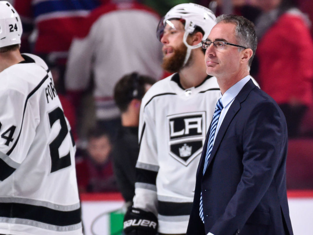 Kings coach Stevens on recent goalie interference call: 'It's a guessing game'