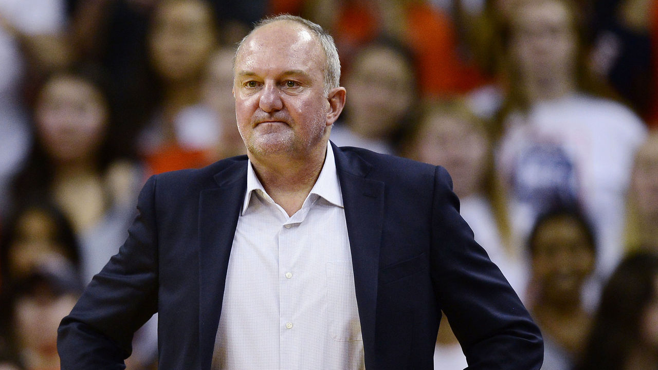 CHARLOTTESVILLE, VA - NOVEMBER 30: Head coach Thad Matta of the Ohio State Buckeyes reacts in the second half during a game against the Virginia Cavaliers at John Paul Jones Arena on November 30, 2016 in Charlottesville, Virginia. The Cavaliers defeated the Buckeyes 63-61.