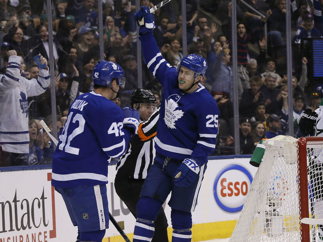 Leafs overcome 2-goal deficit in 3rd period to win for 4th time this season