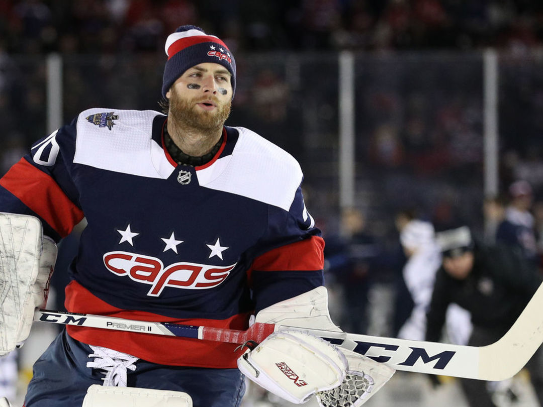 Holtby back in the crease after 4-game 'reset'